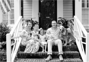 Columbia SC DUI Attorney Neal Truslow pictured with his family